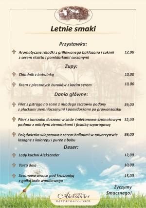 Restauracja Aleksander we Włocławku
